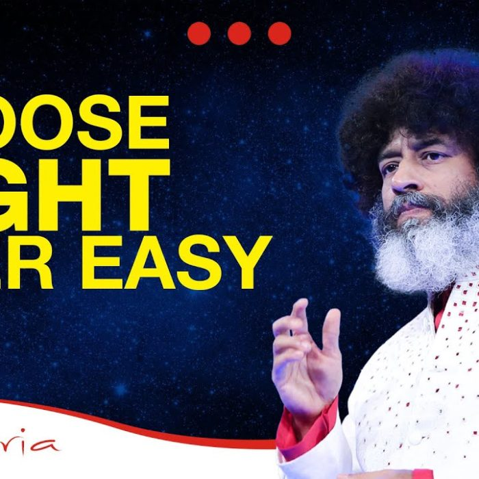 Choose What's Right Over What's Easy | Mahatria on Discipline